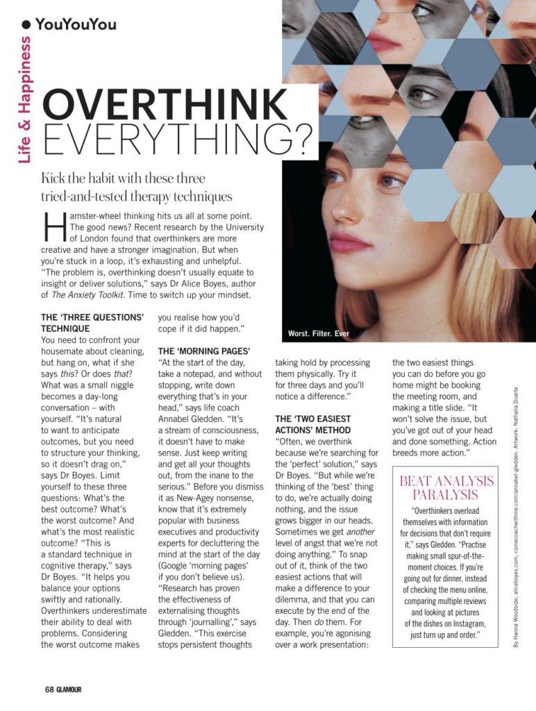 overthink everything